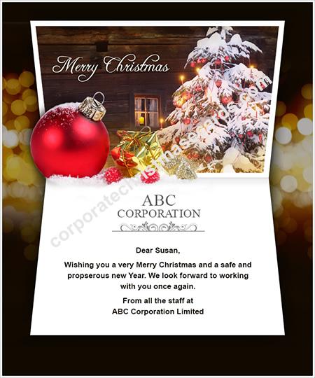 Business holiday ecards business happy holiday e cards holiday winter christmas tree colourmoves